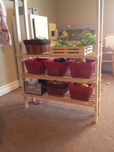 Fruit and Veggie Baskets