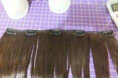 dicas de cabelo sintético para bonecas