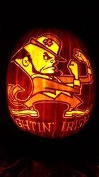 Notre Dame pumpkin lovvvvvvvveeeeeeee iiiiiiiitttttttt!!!!!!!!!!!!