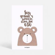 ¿Eres como un oso?   #mrpaperson #luvya #love #oso #kids #couple #homedecor #decor #inspiration #minimalis #style #interiordesign #design #diseñografico #decoraciondeparedes #walldeco #wallart #laminasexclusivas #laminasecorativas #laminasparaenmarcar
