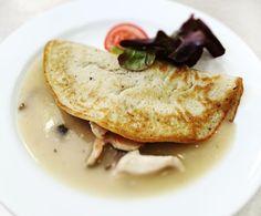 Denné menu Vranov | Kuracie soté na šampiňónoch, zemiaková placka - reštaurácia Hotel Patriot*** #hotel #restaurant