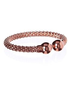 Look at this Rose Gold Open Cuff Bracelet on #zulily today!