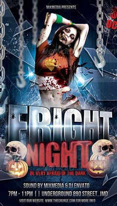 15 Halloween Flyer Designs for your Next Party photo
