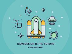 Dribbble - Icon Design is the Future by Justas Galaburda