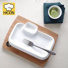 Rectangle Section Plate   Restaurant Dinnerware & Triangle Dinner Plate   Commercial Dinnerware   Appetizer Plates ...
