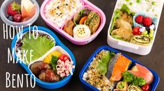 Here are some helpful tips and tools on how to make healthy and colorful Bento…