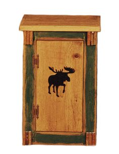 Moose Silhouette Night Stand