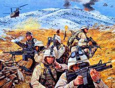 US troops in Afghanistan, Operation Anaconda