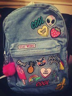 bag me Zeina Mochila Jansport, Jansport Backpack, Adidas, Mini Mochila, Back To School Backpacks, Diy Backpack, Zeina, Fashion Bags, Womens Fashion
