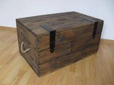 Gumtree: Kufer drewniany skrzynia stolik kawowy szafka nocna NOWY