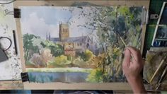 Check out this great #Watercolour Demonstration of Worcester Cathedral http://www.purewatercolour.com/?p=131&utm_content=buffera3d10&utm_medium=social&utm_source=pinterest.com&utm_campaign=buffer /via Patrick Ley-Greaves