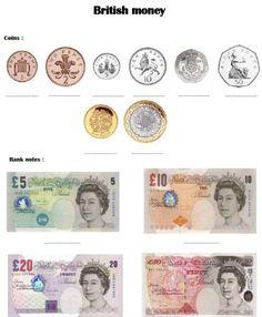 Travailler la monnaie britannique dans la séquence The Elephant and the Bad Baby