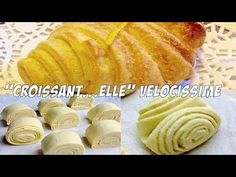 Croissant a elle Croissants, Kombucha, Biscotti, Cake Pops, Food And Drink, Ethnic Recipes, Desserts, Youtube, Anna