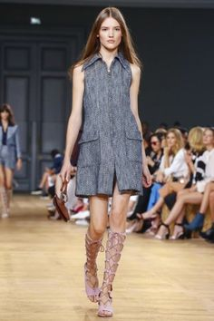 Chloe Paris Womenswear ss15 Shirts aren't all about the sleeves