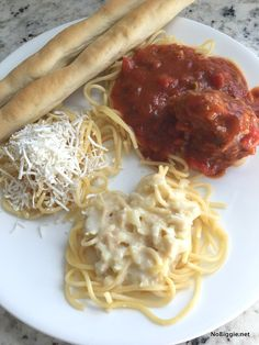 pasta bar at home |