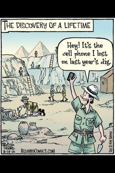 This happens to me all the time - usually not a cell phone though!