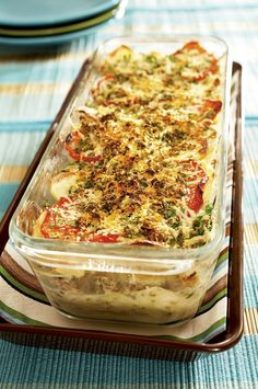 Allrecipes, Lasagna, Quiche, Food To Make, Baking, Breakfast, Ethnic Recipes, Koti, Warm