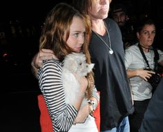 Miley Cyrus/Hannah Montana.