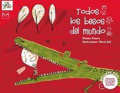 """""""Todos los besos del mundo"""" (Carambuco Ediciones) - """"Todos los besos del mundo"""", de Montse Panero; un libro a favor de la inclusión."""