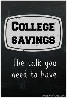 While we are debt free, we've been more focused on getting our family into a home rather than saving more for the kids' college funds. Truthfully, we didn't (until recently) have an official college fund set up for them.