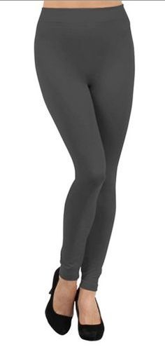 Women's Casual Thin Seamless Stockings Tight Stretch Solid Gray