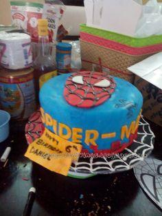 creamy cravings: Daniel's Spider Man Cake