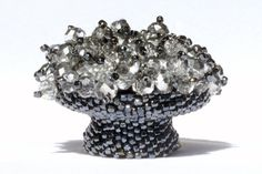 Beaded  Drawer Pull - Finial