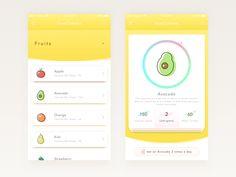 Available now Food Calories designed by Jajang Irawan.