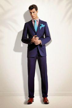 Male Fashion Trends: Florentino derrocha color en su colección Spring 2014