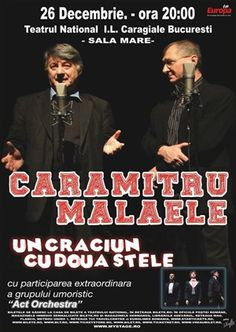 Caramitru - Malaele, cate-n luna si in stele Orchestra, Movies, Movie Posters, Europe, Film Poster, Films, Popcorn Posters, Film Books, Movie