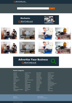 Trade directory for the Wirral Advertise Your Business, Web Design, Dining, Design Web, Food, Website Designs, Site Design