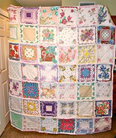 Hanky Rag Quilt Made to Order for You by ZeedleBeez on Etsy