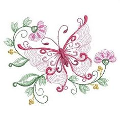 Rippled Dancing Butterflies 9 - 3 Sizes! | What's New | Machine Embroidery Designs | SWAKembroidery.com Ace Points Embroidery