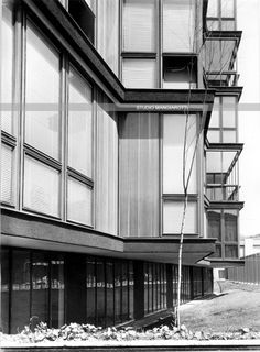 Angelo Mangiarotti - Via Quadronno, Milano, 1959-60