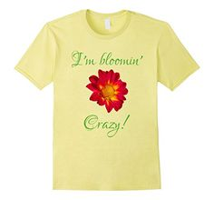 Are you crazy about gardening? Do you love nothing more than to go outside in the fresh air and get your hands in the dirt? Whether your passion is flower beds, organic heirloom fruits and vegetables, plants that are beneficial to bees, ornamental gardens or even landscaping, this cute gardening shirt is perfect for you.  Any passionate gardener will dig this tee! Makes an awesome gift for the botanical expert in your life.  Get it here:  http://amzn.to/2mTUWOd