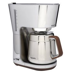 Krups Silver Art 10 Cup Thermal Coffee Maker - KT600