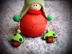 green mushrooms, like it :)