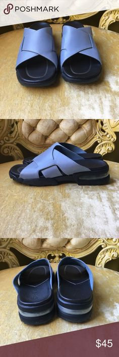 New Blue Cole Haan Nike Air Sandals With Box New Blue Cole Haan Nike Air Sandals With Box Cole Haan Shoes