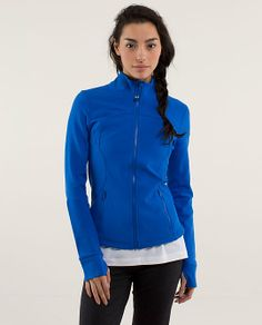 lululemon makes technical athletic clothes for yoga, running, working out, and most other sweaty pursuits. Train Hard, Lululemon, Jackets For Women, Running, Zip, Hoodies, My Style, Stuff To Buy, Fashion Design