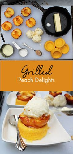 #Contest - Cook this deliciously easy peach dessert on your STOK grill today!