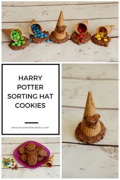 Housewife Eclectic: Harry Potter Sorting House Cookies