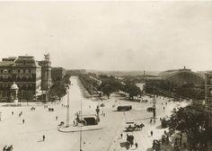 Glorieta de Atocha. Finales década de 1920. Autor desconocido.