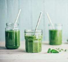 Just in time for Global Smoothie Day.  The one smoothie to beat burnout.