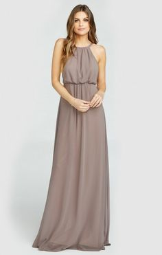 Amanda Maxi Dress ~ Dune Chiffon | Show Me Your MuMu