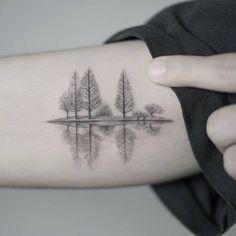 Afbeeldingsresultaat voor minimal patch sleeve tattoo