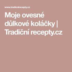 Moje ovesné důlkové koláčky | Tradiční recepty.cz
