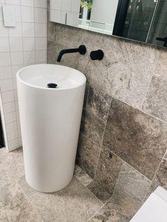 Interior Design by @evoqueinteriors Interior Design | Concrete Basin | Concrete Design | Interior Design | Luxury Interiors | Bathroom Design | Contemprary Costal Interiors | Coastal | Architecture | Interior Designer | Building Designer | Concrete Interiors | Luxury Concrete Designers | Architectural Concrete | Pedestal Basin | Freestanding Basin | Vessel Basin | Vanity | Vanity Basin | @concretenation Pedestal, Bowl Sink, Pedestal Basin, Bathroom Styling, Concrete, Concrete Basin, Sink Design, Form Design, Free Standing