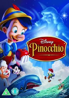Pinocchio [DVD]: Amazon.co.uk: Ben Sharpsteen, Hamilton Luske, Walt Disney: Film & TV