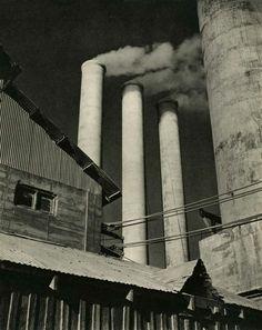 Willard Van Dyke. Cement Works 1931
