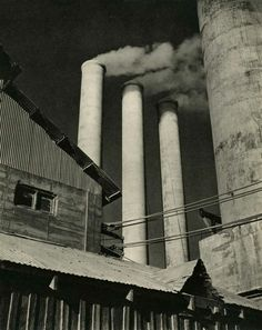 Willard Van Dyke - Cement Works 1931